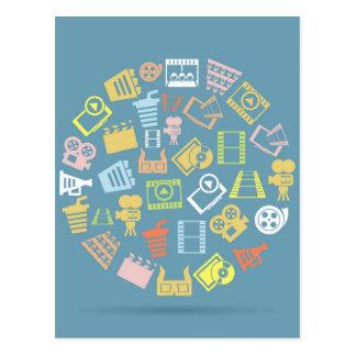 Carte Postale Cercle de cinéma