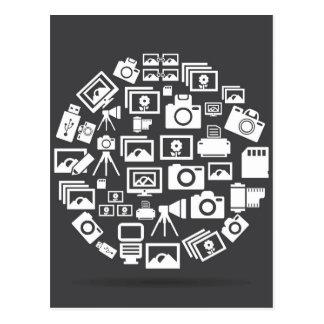 Carte Postale Cercle de photo