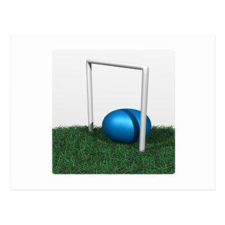 Carte Postale Cercle et boule de croquet
