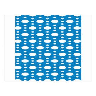 Carte Postale Cercles bleus