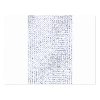 Carte Postale Cercles organiques