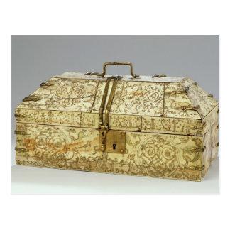 Carte Postale Cercueil arabe de Siculo avec des animaux