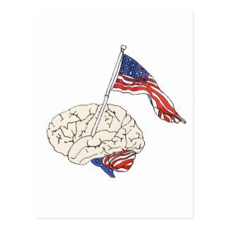 Carte Postale Cerveau américain