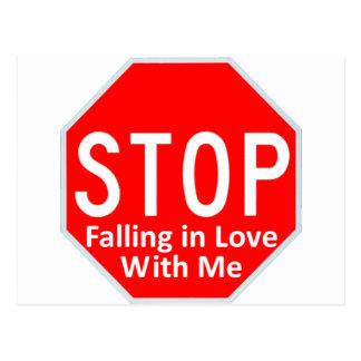 Carte Postale Cessez d'être amoureux