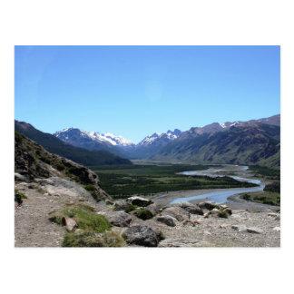 Carte Postale Chaîne des Andes, Patagonia