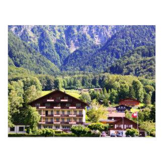 Carte Postale Chalet suisse
