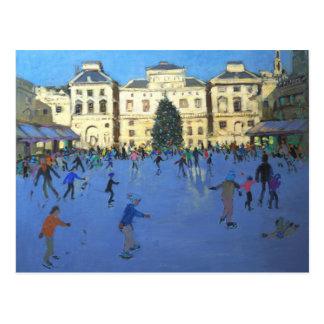 Carte Postale Chambre 2012 de Somerset de patineurs