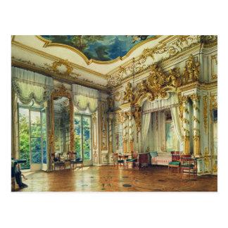 Carte Postale Chambre à coucher de tsar Alexandre I