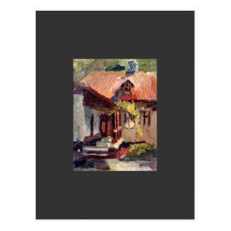 Carte Postale Chambre commémorative de Pushkin à Kishinev
