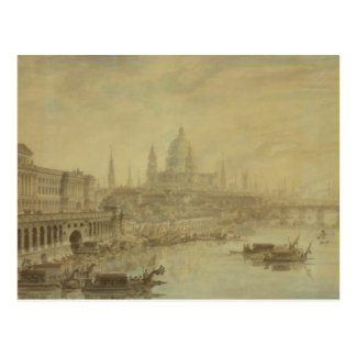 Carte Postale Chambre de Somerset, cathédrale de St Paul et