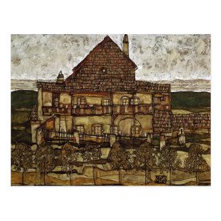 Carte Postale Chambre d'Egon Schiele- avec des bardeaux