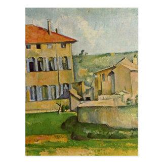 Carte Postale Chambre et ferme chez Jas de Bouffan par Paul