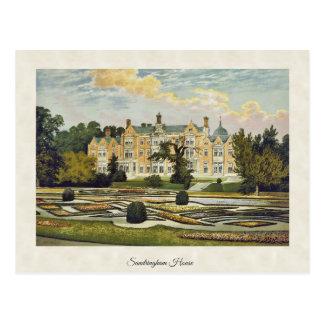 Carte Postale Chambre vintage Norfolk Angleterre de Sandringham