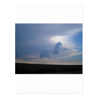 Carte Postale Chameau de ciel