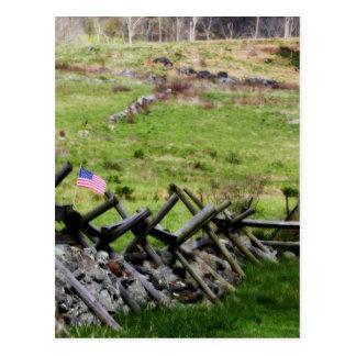 Carte Postale Champ de bataille de Gettysburg