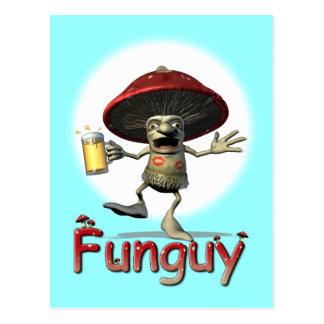 Carte Postale Champignon de Funguy