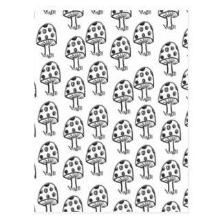 Carte Postale Champignons