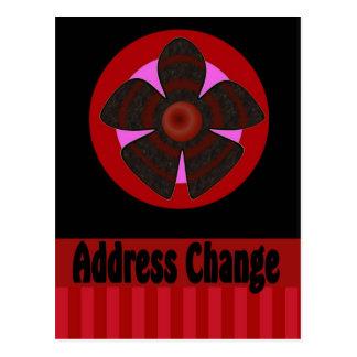 Carte Postale Changement d'adresse