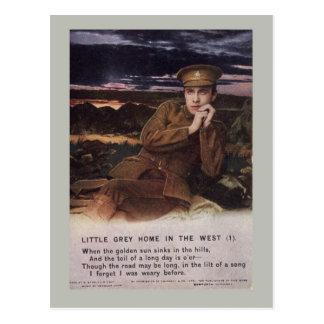 Carte Postale Chanson WW1