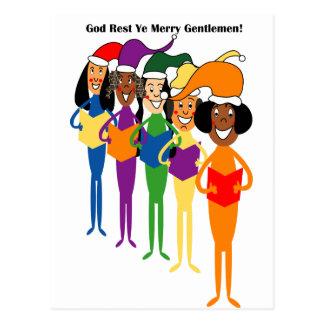 Carte Postale Chants de Noël