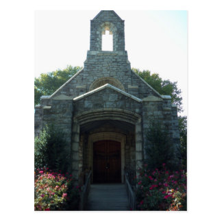 Carte Postale Chapelle de cimetière, vue frontale