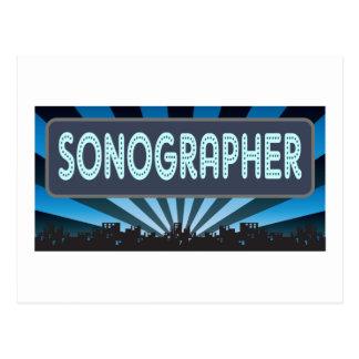 Carte Postale Chapiteau de Sonographer