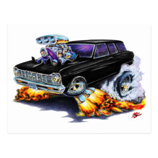Carte Postale Chariot 1962-65 noir de nova