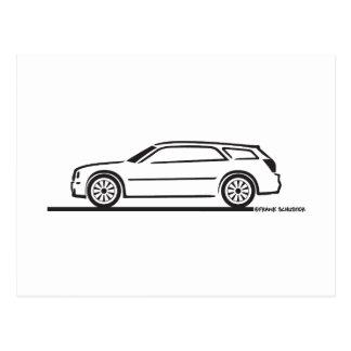 Carte Postale Chariot de station de Chrysler 300