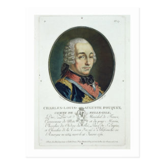 Carte Postale Charles-Louis-Auguste Fouquet (1684-1761) de 'PO