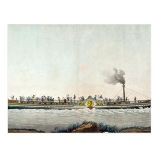 Carte Postale Charles-Philippe, le premier bateau à vapeur