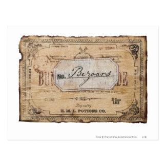 Carte Postale Charme   Bezoars de Harry Potter