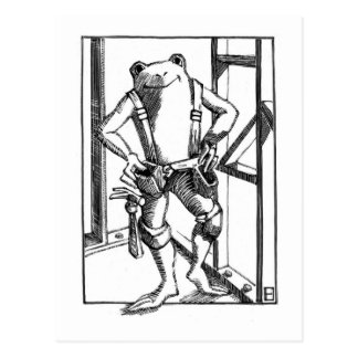 Carte Postale charpentier