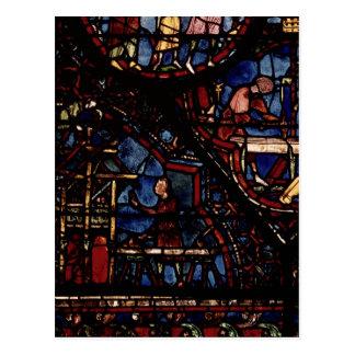 Carte Postale Charpentiers au travail, de la vie du St