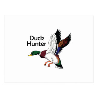 Carte Postale Chasseur de canard
