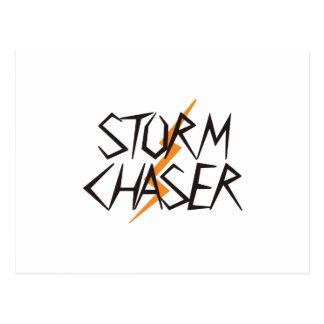Carte Postale Chasseur de tempête