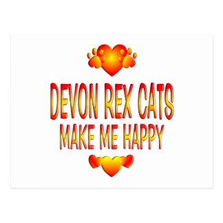 Carte Postale Chat de Devon Rex
