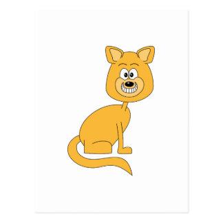Carte Postale Chat de gingembre