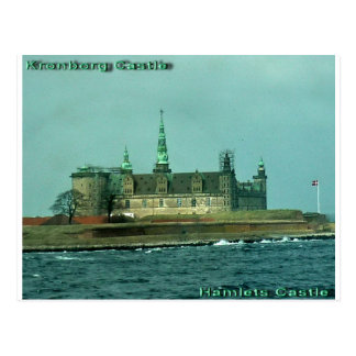 Carte Postale Château de hameaux de château de Kronborgs au
