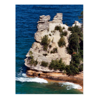 Carte Postale Château de mineurs, Michigan