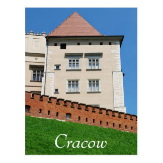 Carte Postale Château de Wawel Royan à Cracovie