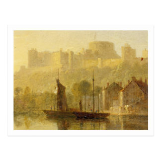 Carte Postale Château de Windsor de la Tamise (huile sur le