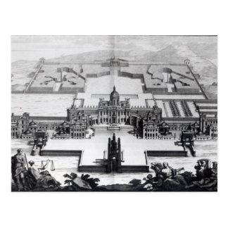 Carte Postale Château Howard, de 'Vitruvius Britannicus