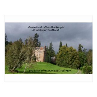 Carte Postale CHÂTEAU LEOD - Clan de l'Ecosse le Mackenzie