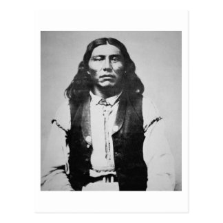 Carte Postale Chef de Naiche (d.1874) des Apaches de Chiricahua