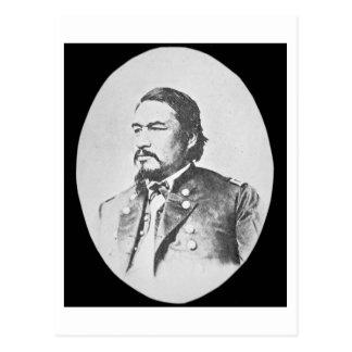 Carte Postale Chef et Feder d'Ely Samuel Parker (1828-95)