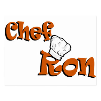 Carte Postale Chef Ron
