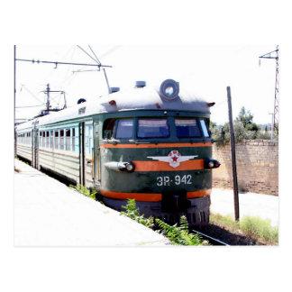 Carte Postale Chemin de fer