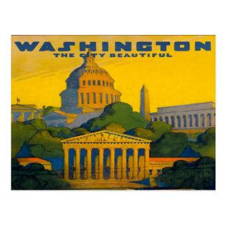 Carte Postale chemin de fer de DC de Washington Pennsylvanie