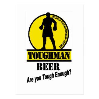 Carte Postale Chemise de bière de Toughman