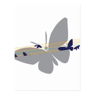 Carte Postale chemise nommée de papillon